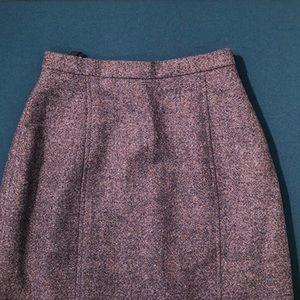 GORGEOUS Wool Vintage Pencil Skirt